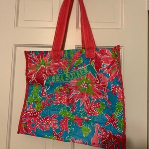 Colorful Lilly Pulitzer Tote
